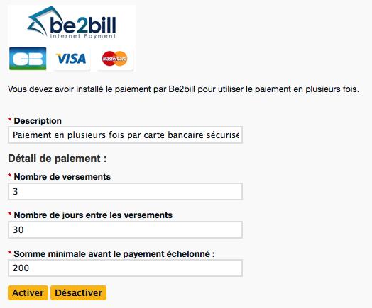 Le paiement en n fois avec be2bill le blog de 42stores - Paiement en plusieurs fois avec paypal ...